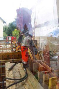 Im langen Loh 251, betonieren
