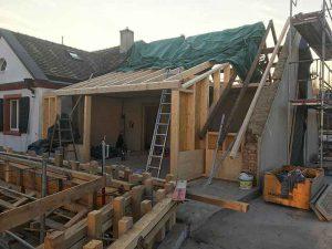 Aufbau Dachgeschoss, Im langen Loh 251
