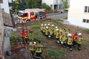 Milizfeuerwehr Basel-Stadt, Rettungsübung Im langen Loh 251