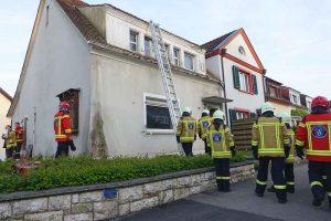 Milizfeuerwehr Basel-Stadt, Rettungsübung Im langen Loh 251 Feuerwehrübung