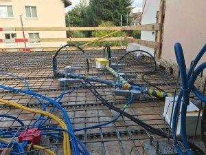 Im langen Loh 251, Elektroinstallationen, Wasser und Abfluss