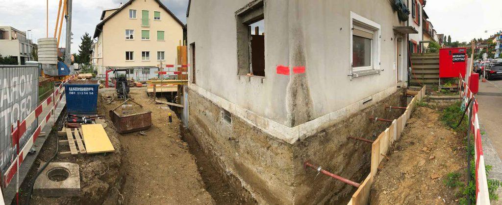 Im langen Loh 251, Arbeiten für die Kanalisation