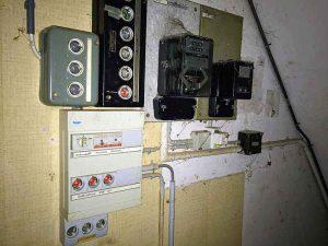 Elektroverteiler Januar 2017 Kontrolle Hausinstallation