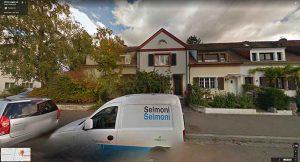 Google Maps Street View: Eckhaus «Im langen Loh 251» ist völlig zugewachsen
