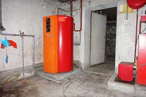 Ölheizung Boiler