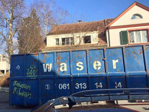 Räumungsarbeiten, Entsorgung Müll, Hausräumung