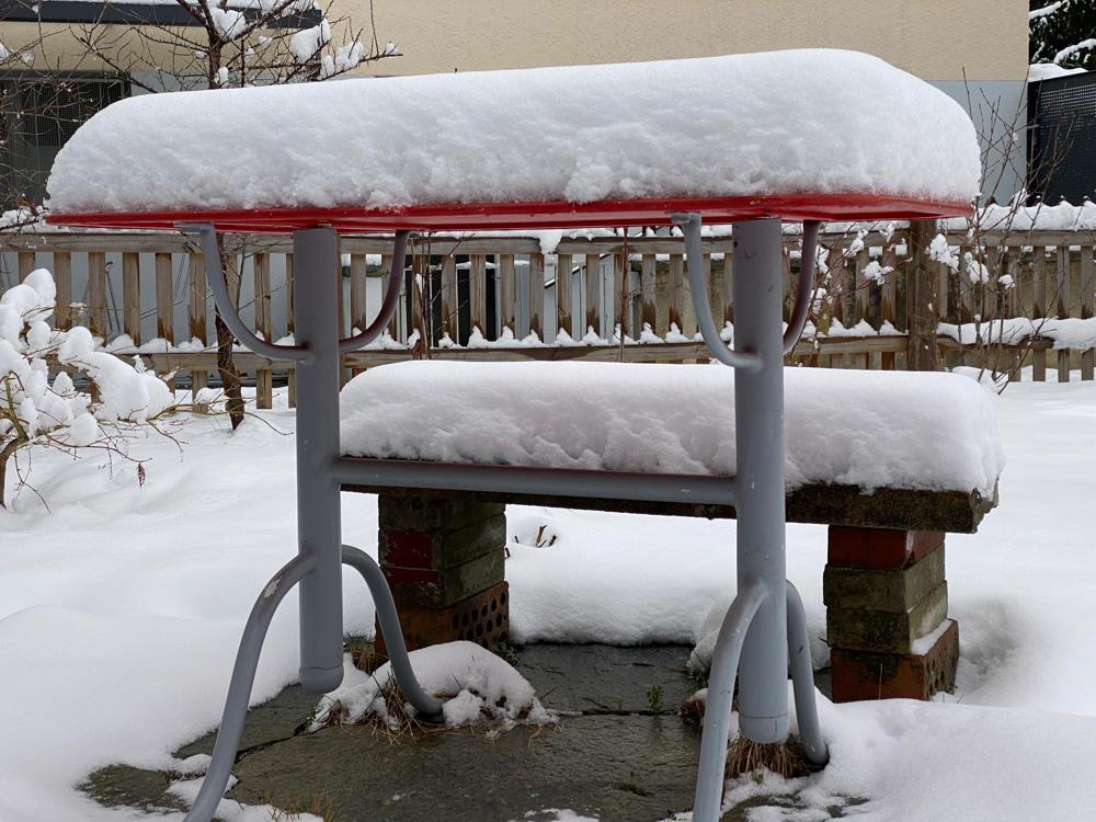Bild: Im langen Loh, Januar 2021, Schnee